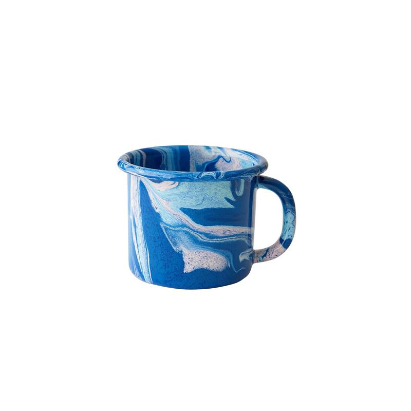 Cobalt Large Enamel Mug - TALI Concept Store
